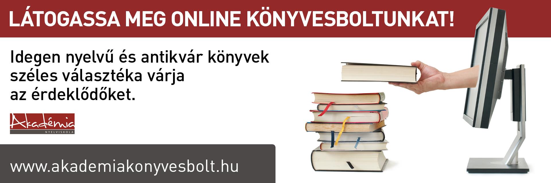 Akadémia Nyelviskola könyvesbolt